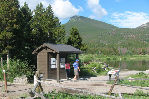 Lily Lake Trailhead