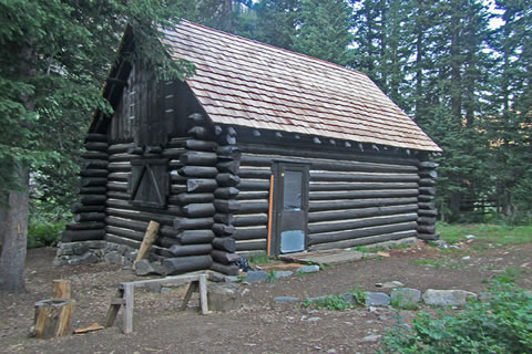 The Death Canyon Patrol Cabin