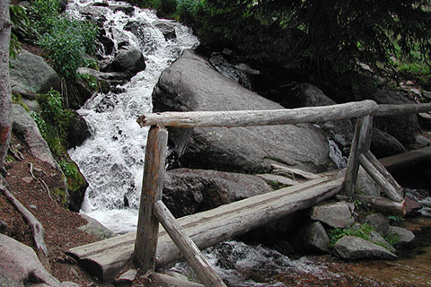 Alpine Brook crossing