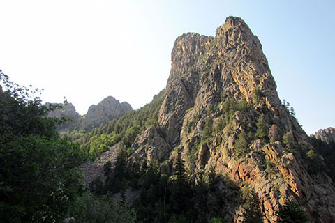 The Thumb rock formation