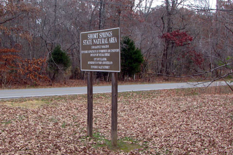 Short Springs Sign