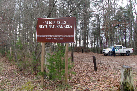 Virgin Falls Trailhead parking