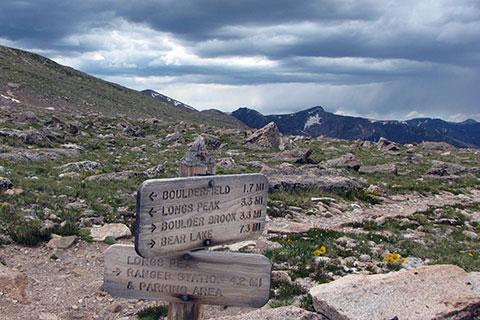 Keyhole Route Longs Peak Rocky Mountain National Park
