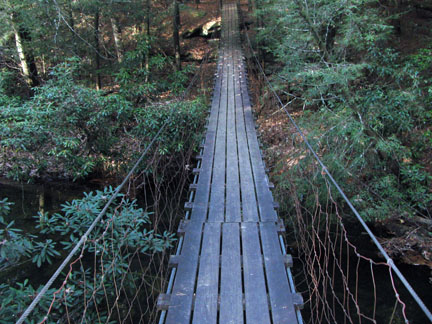 Swinging bridge cumberland
